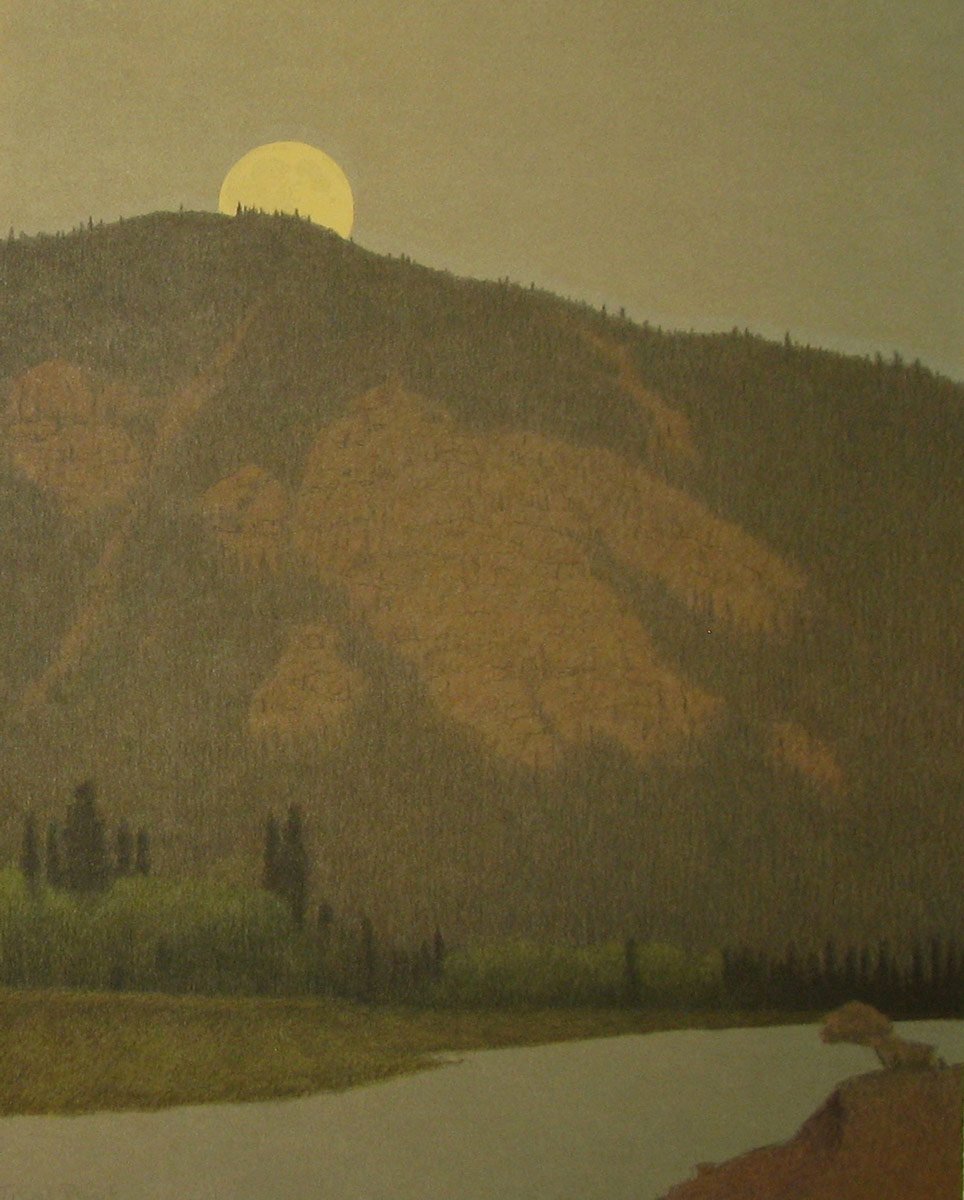 Chatham-Dusk on the Blackfoot River